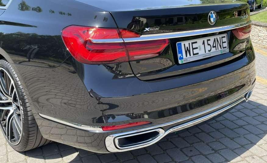 BMW 740 740d x-Drive / Individual / Salon PL I-właściciel / Bezwypadkowa zdjęcie 27