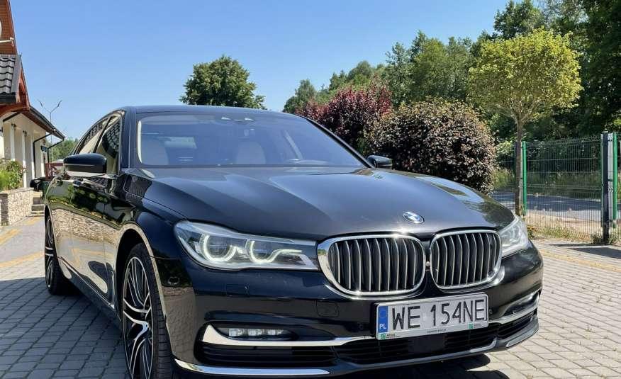 BMW 740 740d x-Drive / Individual / Salon PL I-właściciel / Bezwypadkowa zdjęcie 28