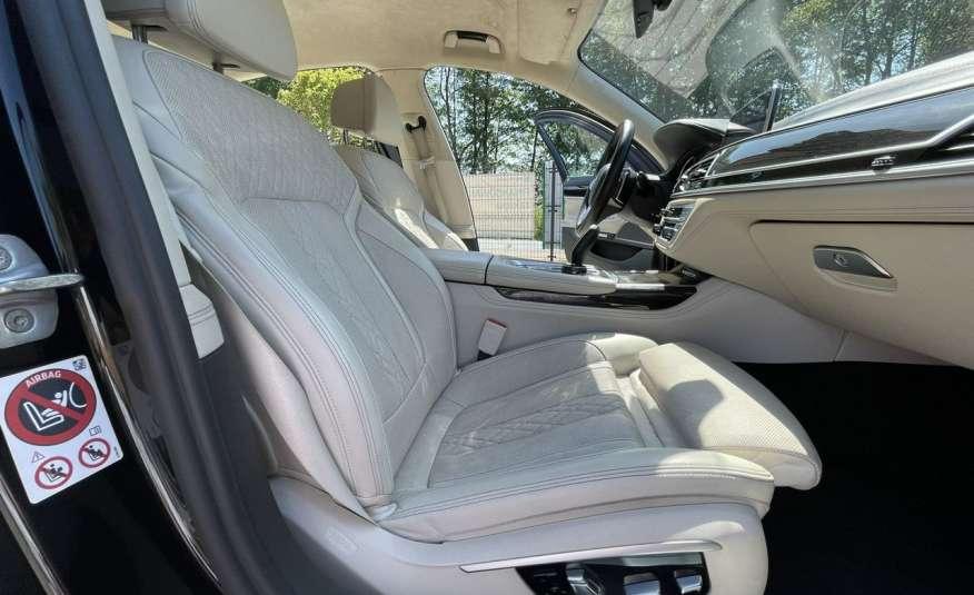 BMW 740 740d x-Drive / Individual / Salon PL I-właściciel / Bezwypadkowa zdjęcie 39
