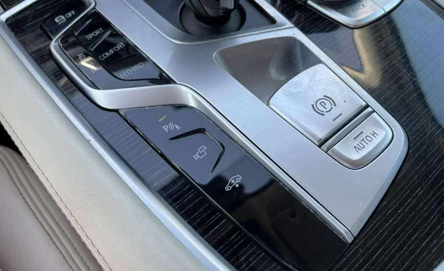 BMW 740 740d x-Drive / Individual / Salon PL I-właściciel / Bezwypadkowa zdjęcie 44