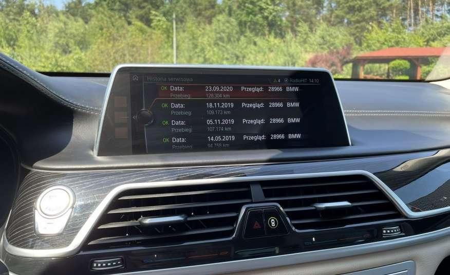 BMW 740 740d x-Drive / Individual / Salon PL I-właściciel / Bezwypadkowa zdjęcie 46