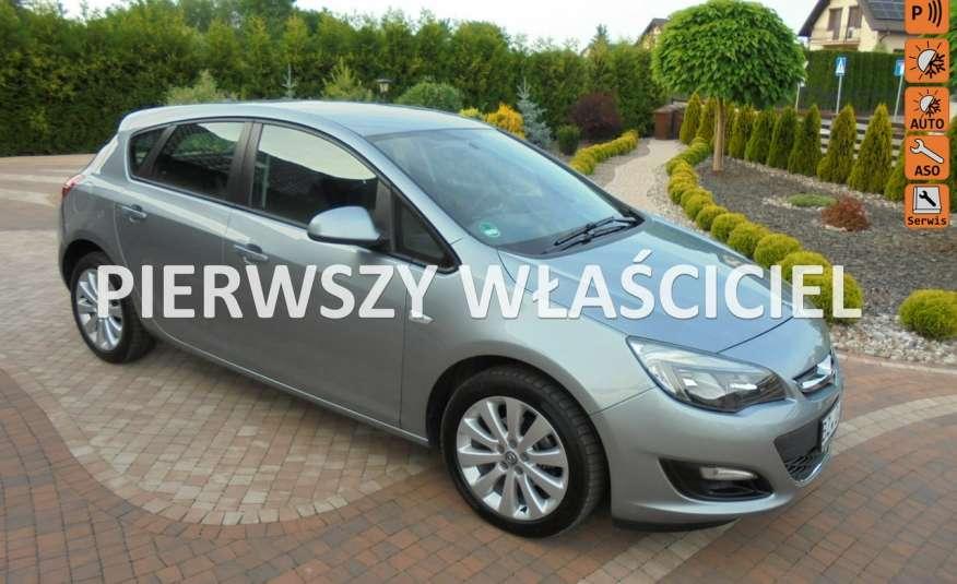 Opel Astra Super niski przebieg , serwis , wyposażona 1.4 benzyna, Navi zdjęcie 1