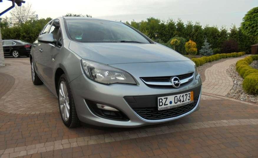 Opel Astra Super niski przebieg , serwis , wyposażona 1.4 benzyna, Navi zdjęcie 4