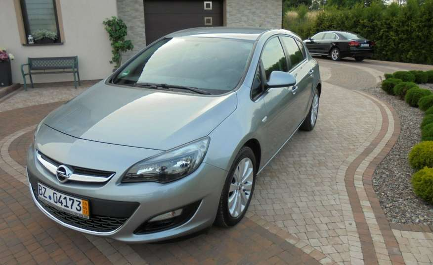 Opel Astra Super niski przebieg , serwis , wyposażona 1.4 benzyna, Navi zdjęcie 8