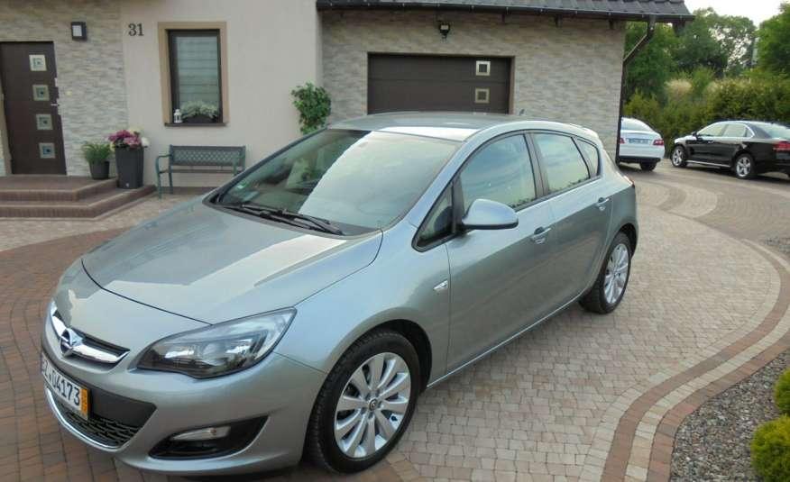 Opel Astra Super niski przebieg , serwis , wyposażona 1.4 benzyna, Navi zdjęcie 9
