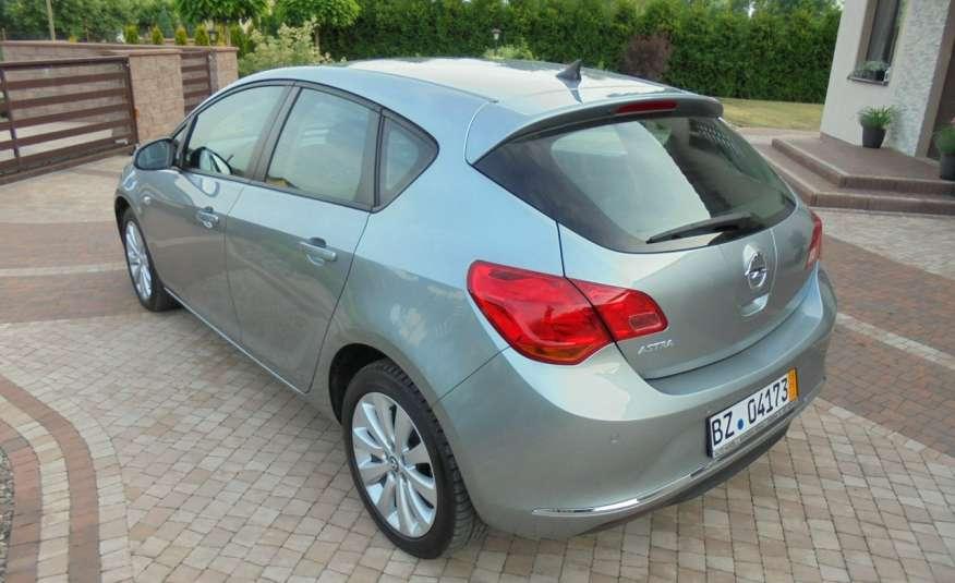Opel Astra Super niski przebieg , serwis , wyposażona 1.4 benzyna, Navi zdjęcie 11