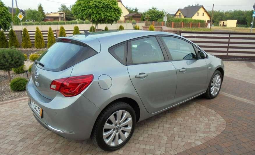Opel Astra Super niski przebieg , serwis , wyposażona 1.4 benzyna, Navi zdjęcie 17