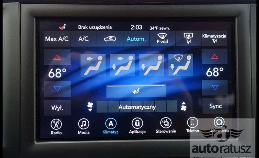 Chrysler Pacifica Automat Bardzo Zadbany Oryginalny Przebieg 7 osób zdjęcie 31