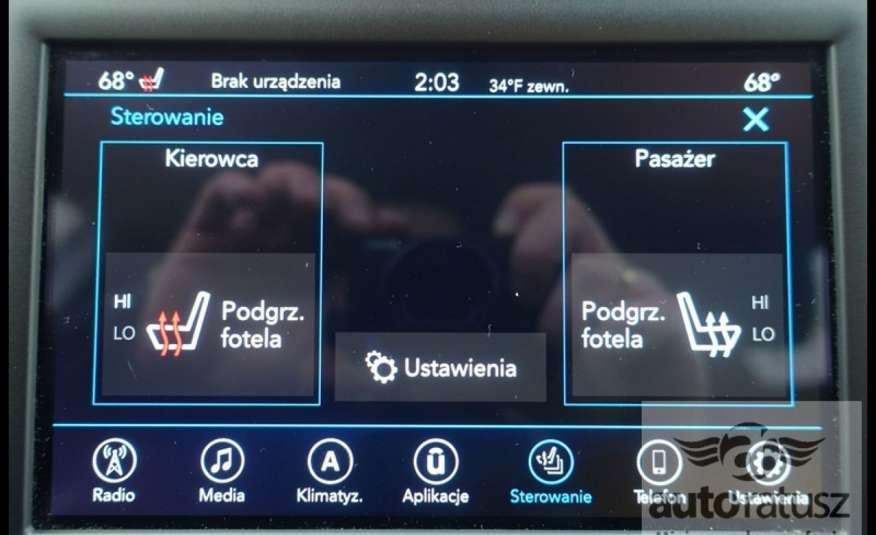 Chrysler Pacifica Automat Bardzo Zadbany Oryginalny Przebieg 7 osób zdjęcie 33