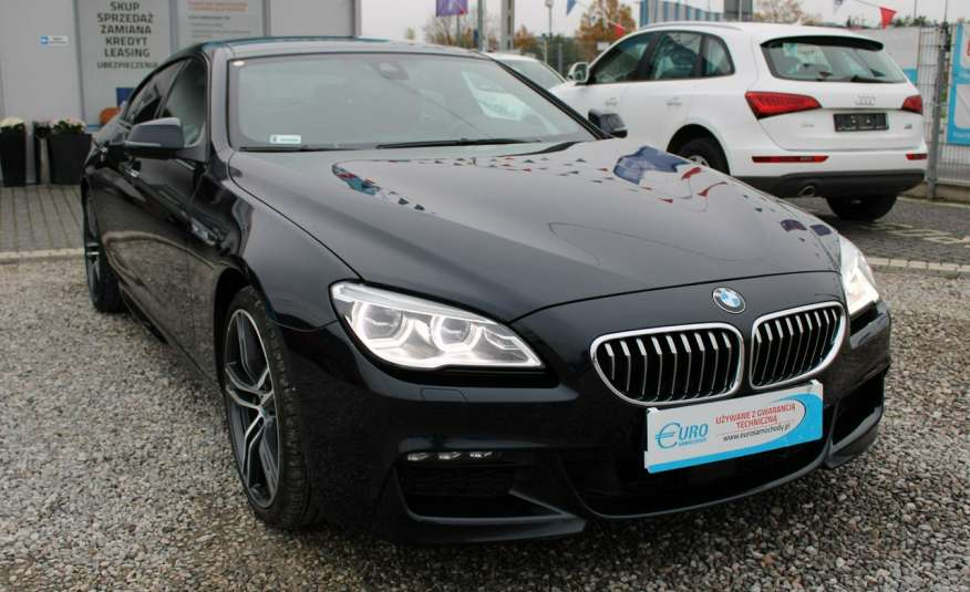 BMW 640 Salon, Skora, Idealny, Szyber, Faktura vat, 52tys kmGrand Coupe. zdjęcie 1