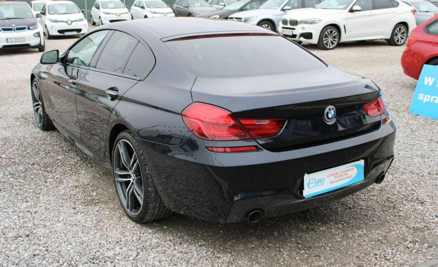 BMW 640 Salon, Skora, Idealny, Szyber, Faktura vat, 52tys kmGrand Coupe. zdjęcie 8