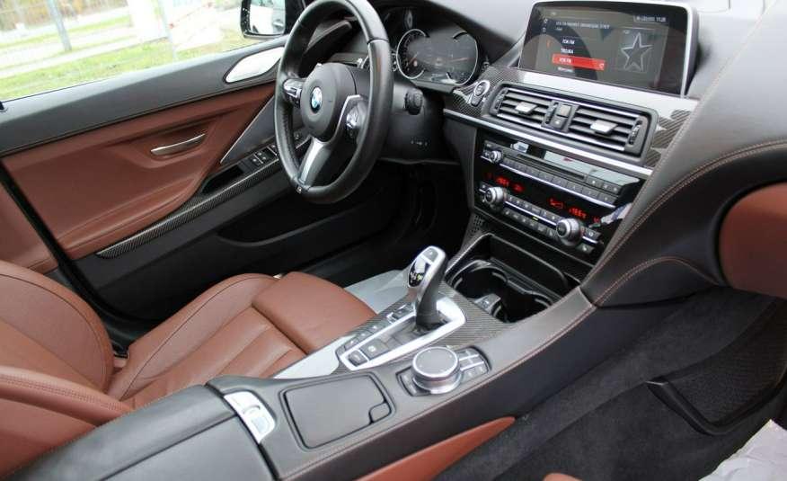 BMW 640 Salon, Skora, Idealny, Szyber, Faktura vat, 52tys kmGrand Coupe. zdjęcie 9