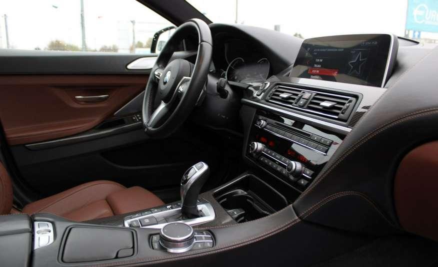 BMW 640 Salon, Skora, Idealny, Szyber, Faktura vat, 52tys kmGrand Coupe. zdjęcie 11