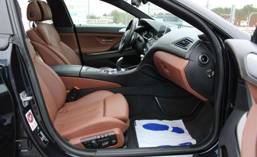BMW 640 Salon, Skora, Idealny, Szyber, Faktura vat, 52tys kmGrand Coupe. zdjęcie 13