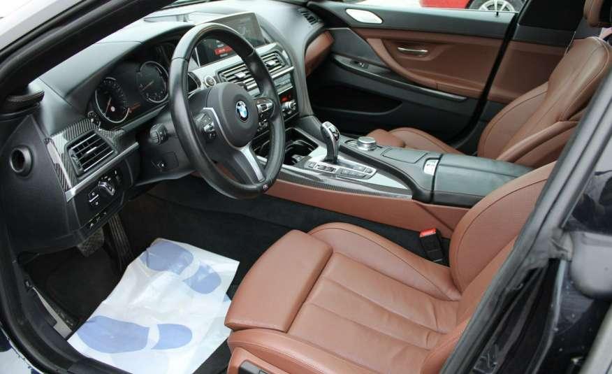 BMW 640 Salon, Skora, Idealny, Szyber, Faktura vat, 52tys kmGrand Coupe. zdjęcie 17