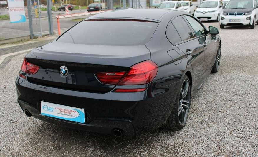 BMW 640 Salon, Skora, Idealny, Szyber, Faktura vat, 52tys kmGrand Coupe. zdjęcie 19