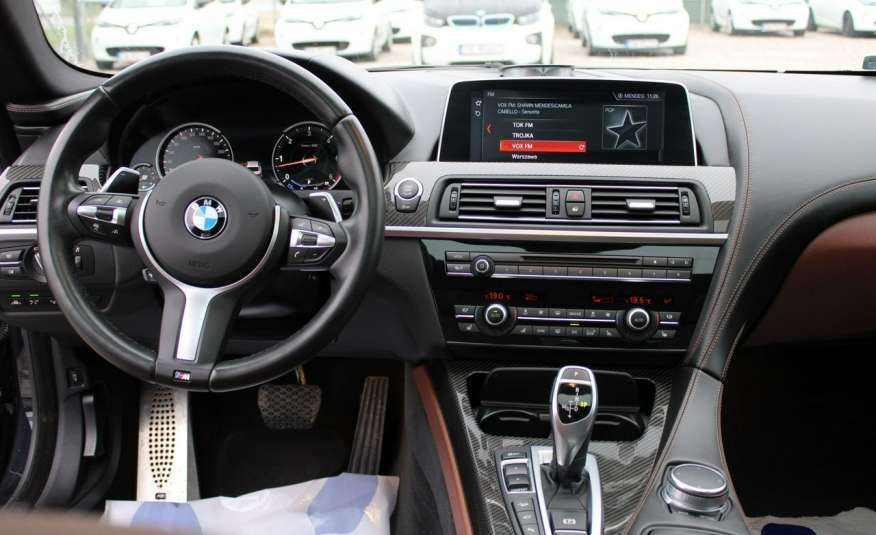 BMW 640 Salon, Skora, Idealny, Szyber, Faktura vat, 52tys kmGrand Coupe. zdjęcie 31