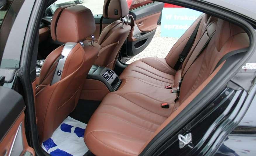 BMW 640 Salon, Skora, Idealny, Szyber, Faktura vat, 52tys kmGrand Coupe. zdjęcie 42