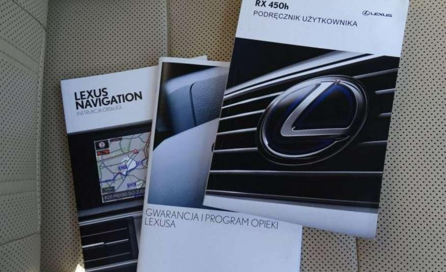Lexus RX 450h Salon PL 1 wł ASO FV23% Transport GRATIS zdjęcie 5