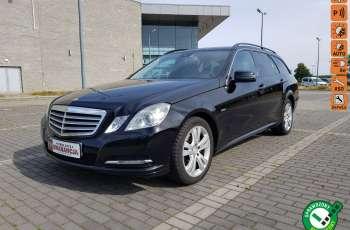 Mercedes E 200 2.2 cdi 136KM, automat, lift, skóry, el klapa, xenon, led.1 rok gwarancji