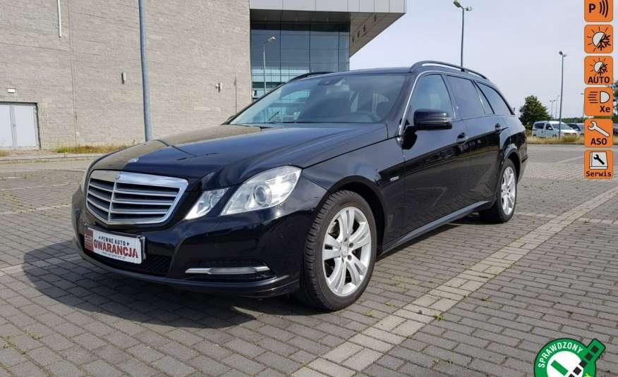 Mercedes E 200 2.2 cdi 136KM, automat, lift, skóry, el klapa, xenon, led.1 rok gwarancji zdjęcie 1