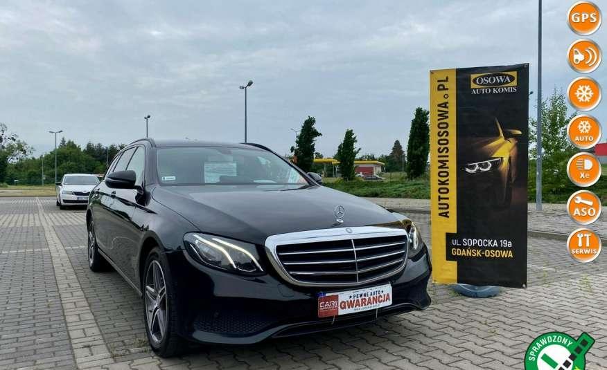Mercedes E 220 2.2cdi moc194KM full led Skóra kamery360 multi beam 1 rok gwarancji zdjęcie 1