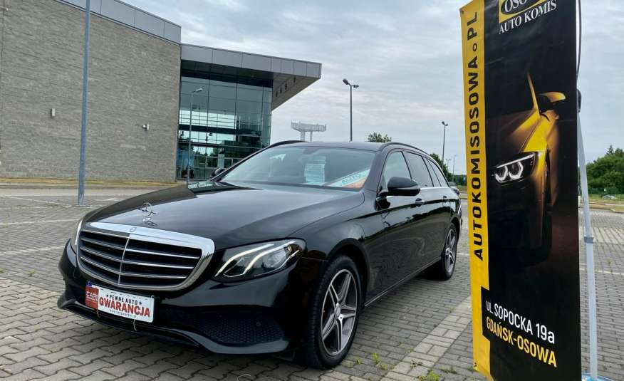 Mercedes E 220 2.2cdi moc194KM full led Skóra kamery360 multi beam 1 rok gwarancji zdjęcie 3