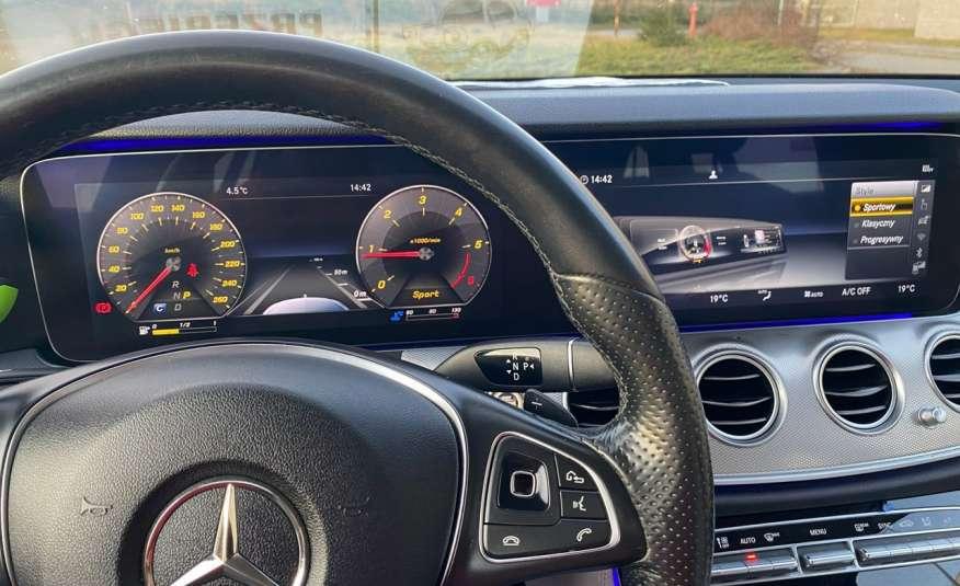 Mercedes E 220 2.2cdi moc194KM full led Skóra kamery360 multi beam 1 rok gwarancji zdjęcie 24