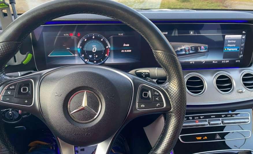 Mercedes E 220 2.2cdi moc194KM full led Skóra kamery360 multi beam 1 rok gwarancji zdjęcie 25