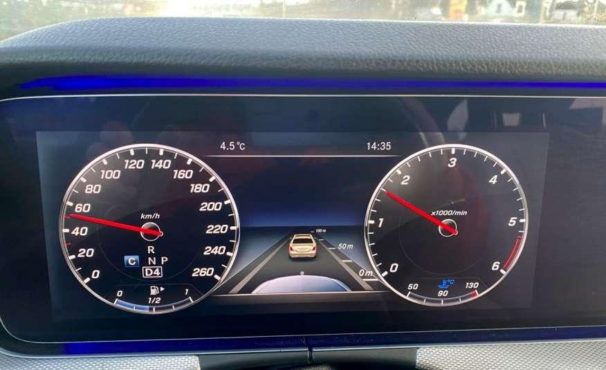 Mercedes E 220 2.2cdi moc194KM full led Skóra kamery360 multi beam 1 rok gwarancji zdjęcie 27