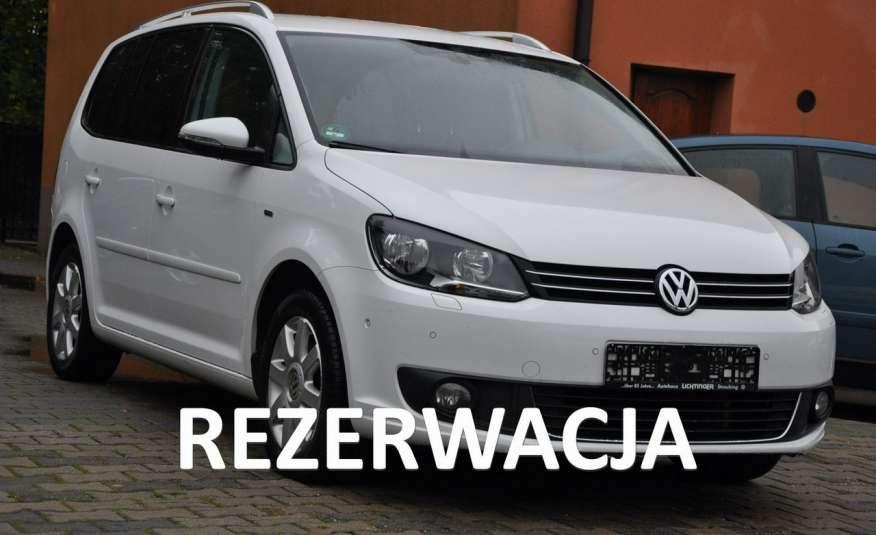 Volkswagen Touran 1.6TDI PDC Alum Multi Gwarancja zdjęcie 1