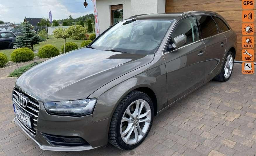 Audi A4 15r. 2.0 150 KM skóra navi el.klapa radar serwis w ASO Cz wa zdjęcie 1
