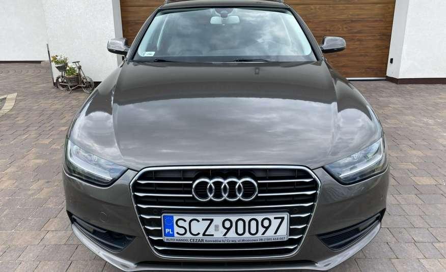 Audi A4 15r. 2.0 150 KM skóra navi el.klapa radar serwis w ASO Cz wa zdjęcie 2