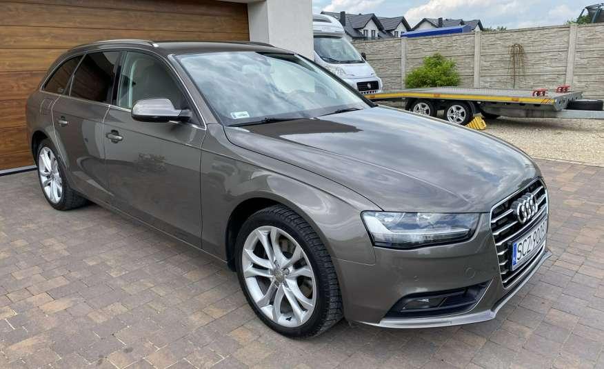 Audi A4 15r. 2.0 150 KM skóra navi el.klapa radar serwis w ASO Cz wa zdjęcie 3