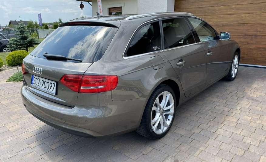 Audi A4 15r. 2.0 150 KM skóra navi el.klapa radar serwis w ASO Cz wa zdjęcie 4