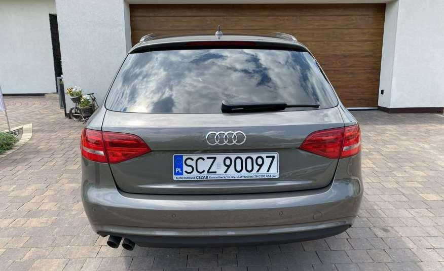 Audi A4 15r. 2.0 150 KM skóra navi el.klapa radar serwis w ASO Cz wa zdjęcie 5