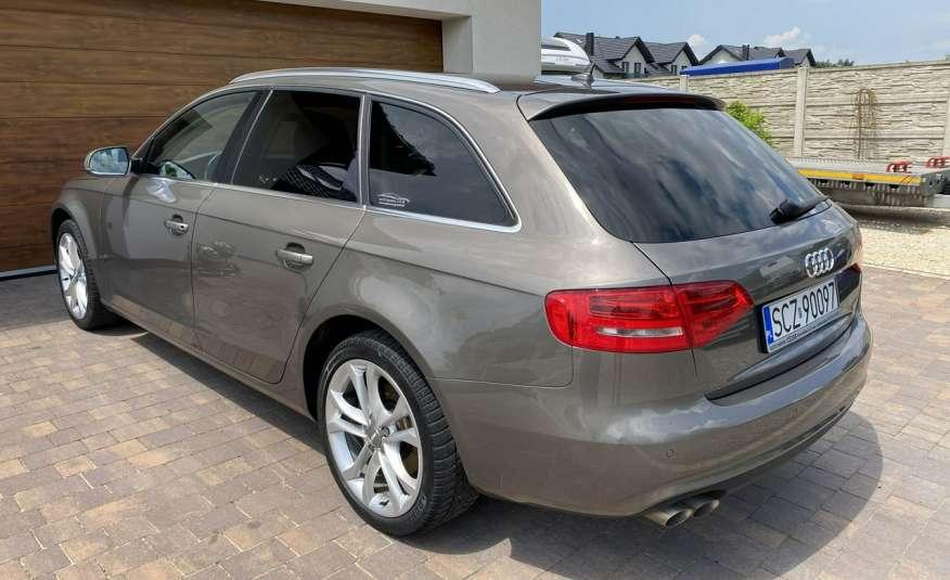 Audi A4 15r. 2.0 150 KM skóra navi el.klapa radar serwis w ASO Cz wa zdjęcie 6
