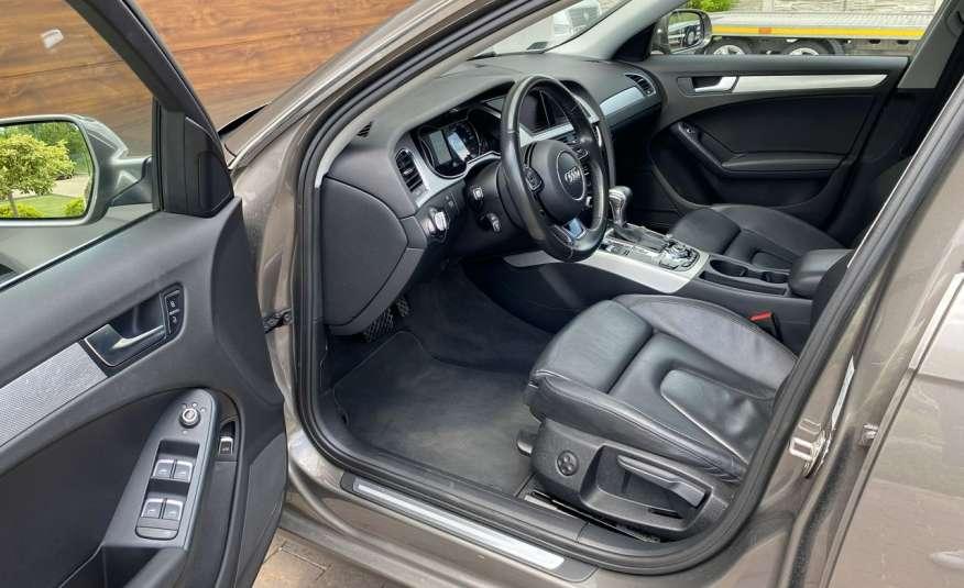 Audi A4 15r. 2.0 150 KM skóra navi el.klapa radar serwis w ASO Cz wa zdjęcie 7