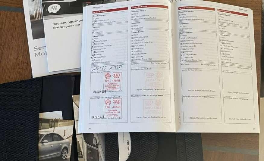 Audi A4 15r. 2.0 150 KM skóra navi el.klapa radar serwis w ASO Cz wa zdjęcie 9