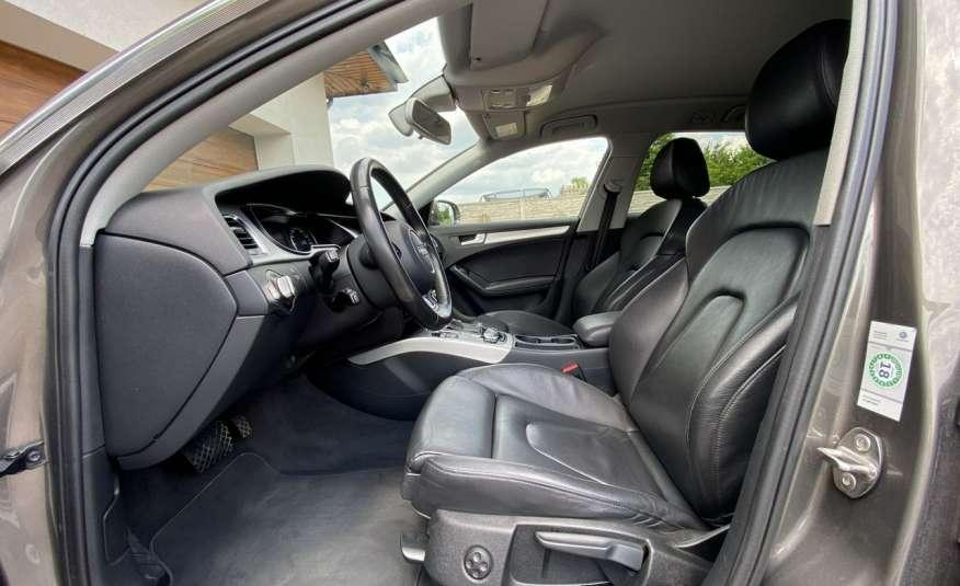 Audi A4 15r. 2.0 150 KM skóra navi el.klapa radar serwis w ASO Cz wa zdjęcie 10