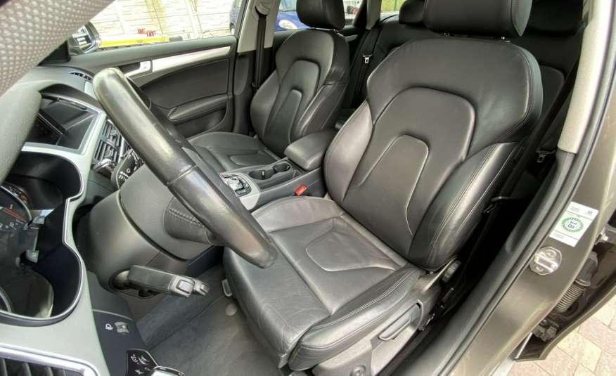 Audi A4 15r. 2.0 150 KM skóra navi el.klapa radar serwis w ASO Cz wa zdjęcie 11