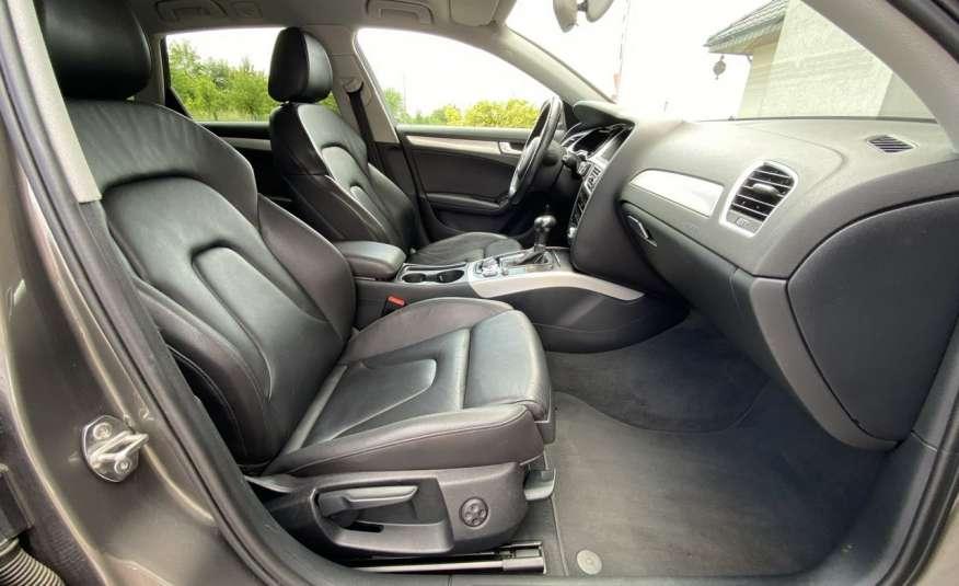 Audi A4 15r. 2.0 150 KM skóra navi el.klapa radar serwis w ASO Cz wa zdjęcie 12