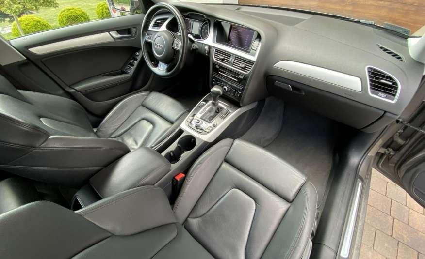 Audi A4 15r. 2.0 150 KM skóra navi el.klapa radar serwis w ASO Cz wa zdjęcie 13