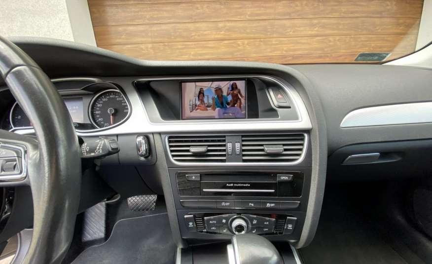 Audi A4 15r. 2.0 150 KM skóra navi el.klapa radar serwis w ASO Cz wa zdjęcie 14