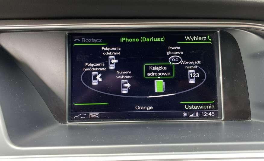 Audi A4 15r. 2.0 150 KM skóra navi el.klapa radar serwis w ASO Cz wa zdjęcie 15
