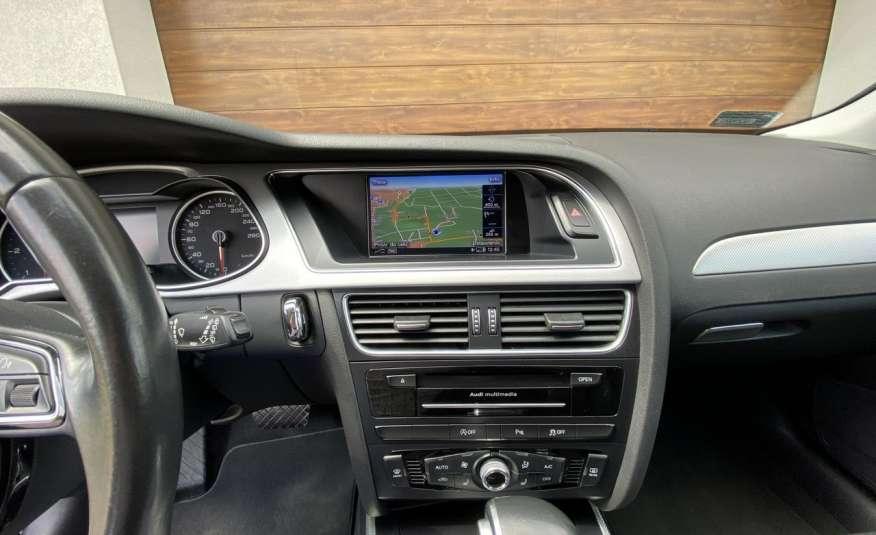 Audi A4 15r. 2.0 150 KM skóra navi el.klapa radar serwis w ASO Cz wa zdjęcie 16