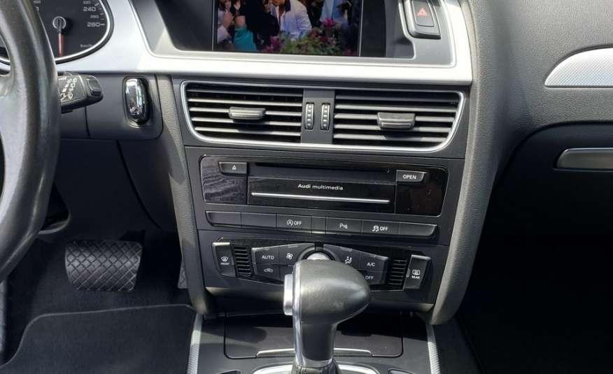 Audi A4 15r. 2.0 150 KM skóra navi el.klapa radar serwis w ASO Cz wa zdjęcie 17