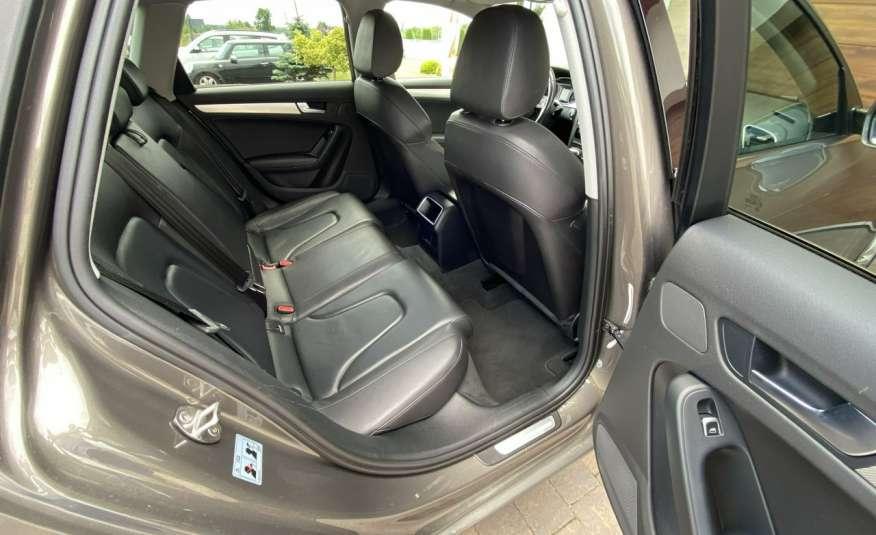 Audi A4 15r. 2.0 150 KM skóra navi el.klapa radar serwis w ASO Cz wa zdjęcie 19