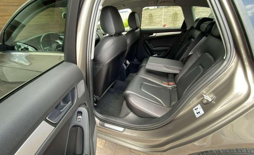 Audi A4 15r. 2.0 150 KM skóra navi el.klapa radar serwis w ASO Cz wa zdjęcie 20