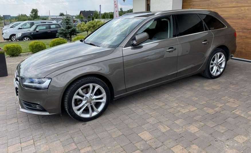 Audi A4 15r. 2.0 150 KM skóra navi el.klapa radar serwis w ASO Cz wa zdjęcie 26